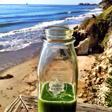 Juice Ranch's Greens and Ginger makes everything better.