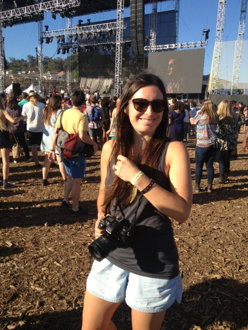 Jeremy and I got to cover the FYF music festival in LA in August. Our first time working as a husband-wife journalism team!