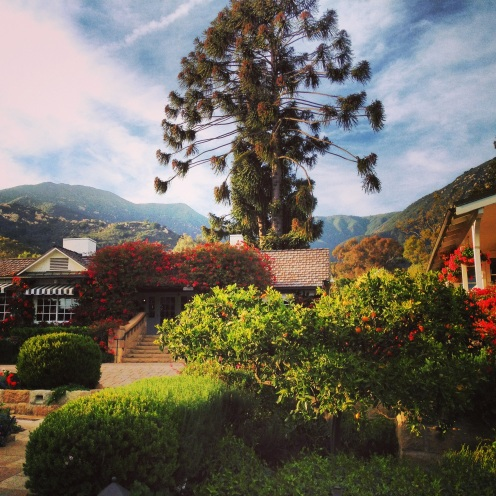 Jeremy and I celebrated our four-year anniversary in April at the San Ysidro Ranch - the venue we chose for our wedding reception.