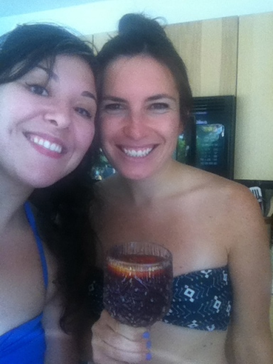In May, one of my best friends from Georgia flew out to California to go to Palm Springs for my bachelorette weekend with some other friends from Santa Barbara. We rented an awesome house, and had the best time.