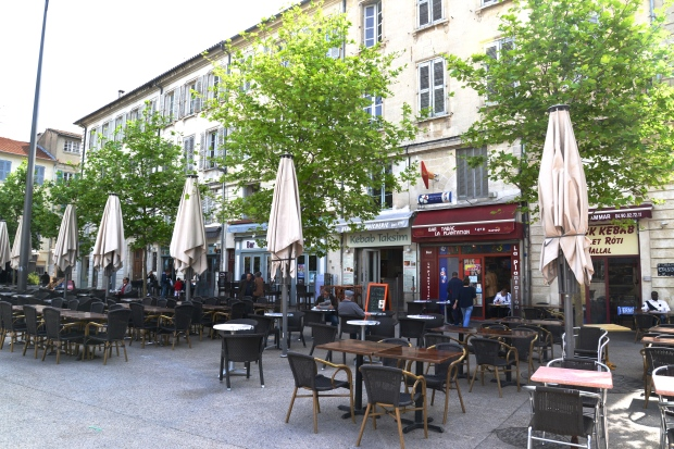 The square that Les Halles is in, Place Pie, is also charming with lots of good-looking restaurants.