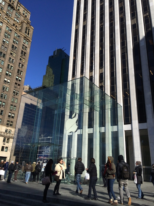 Coolest Apple store ever.