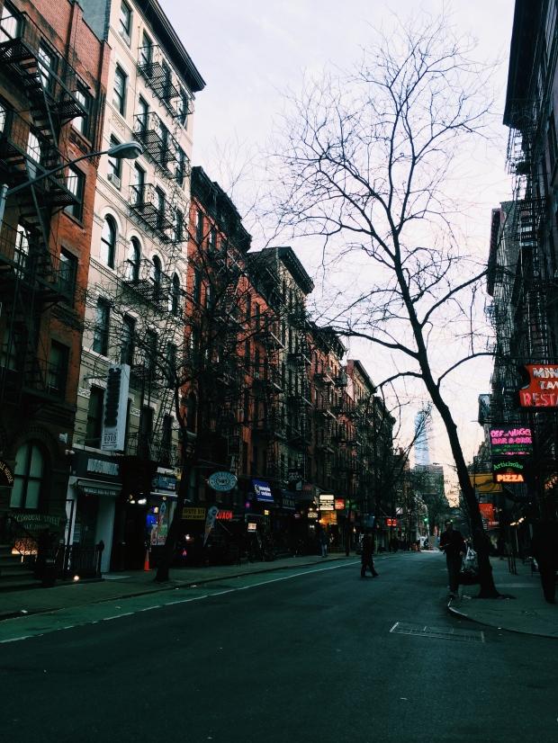 I love Greenwich Village.