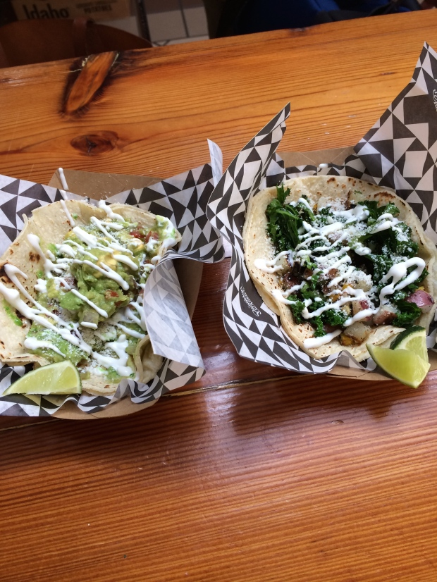 I made sure my last meal in America was tacos with lots of guacamole (we got them from Brooklyn Tacos in the Essex Market in the LES).