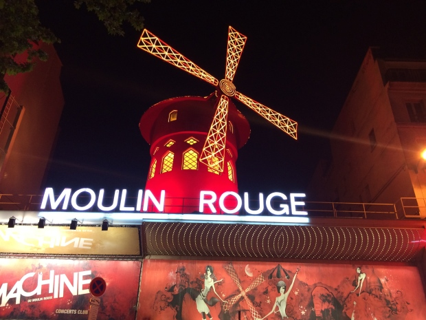 Moulin Rouge is nearby, of course we had to visit.