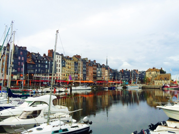 Grey day in Honfleur.