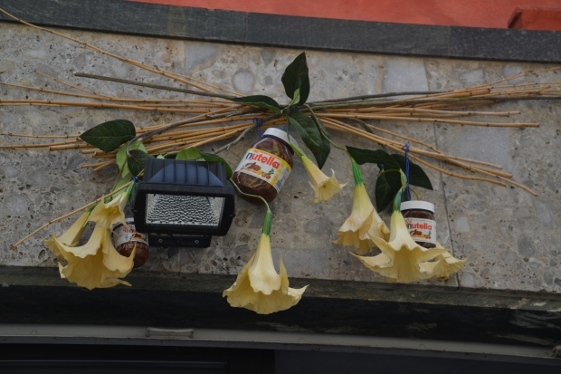 The city of Alba is proud of their Nutella heritage.