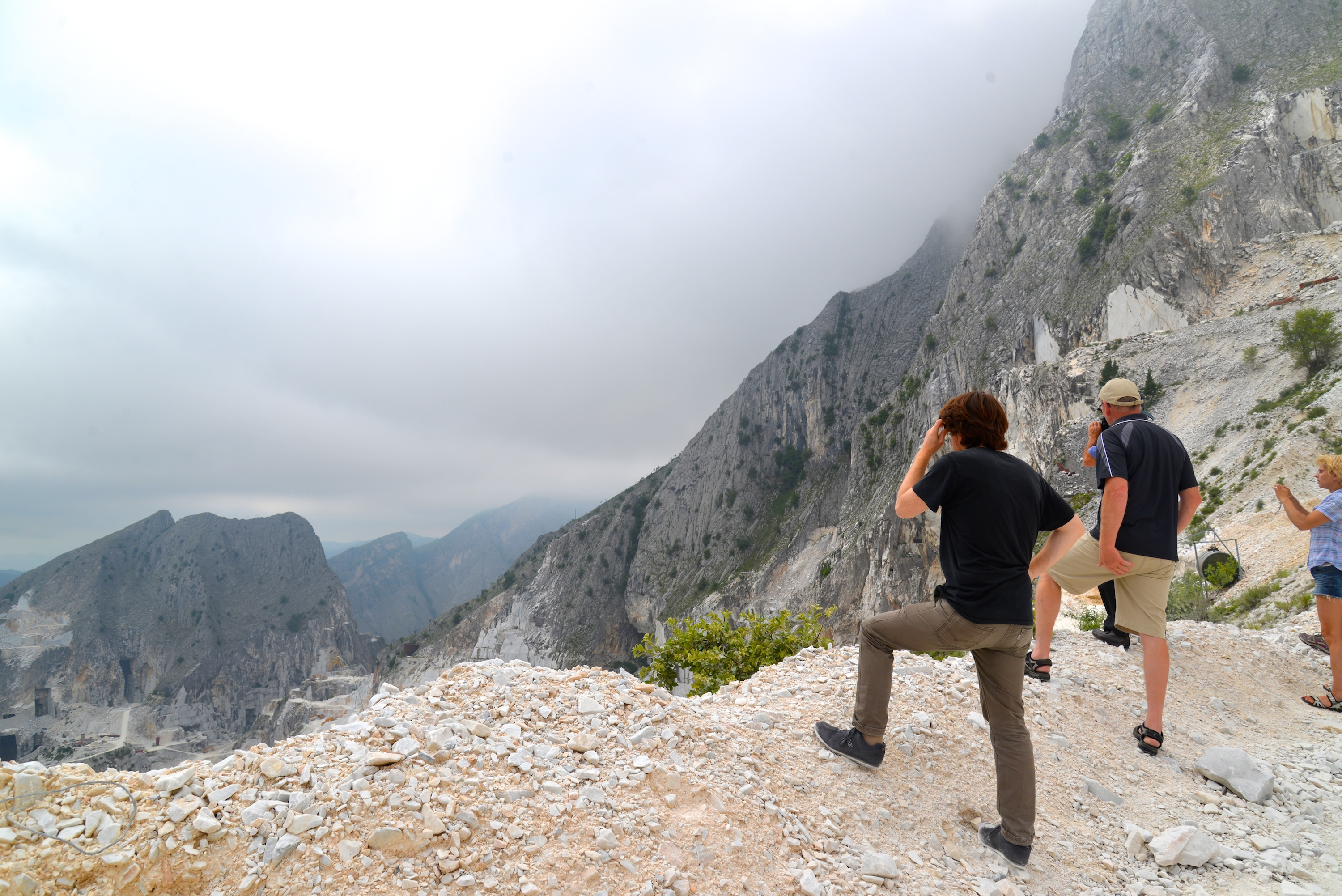Touring The Marble Quarries Of Carrara Italy Lily Runs