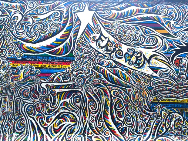 More art from the East Side Gallery.