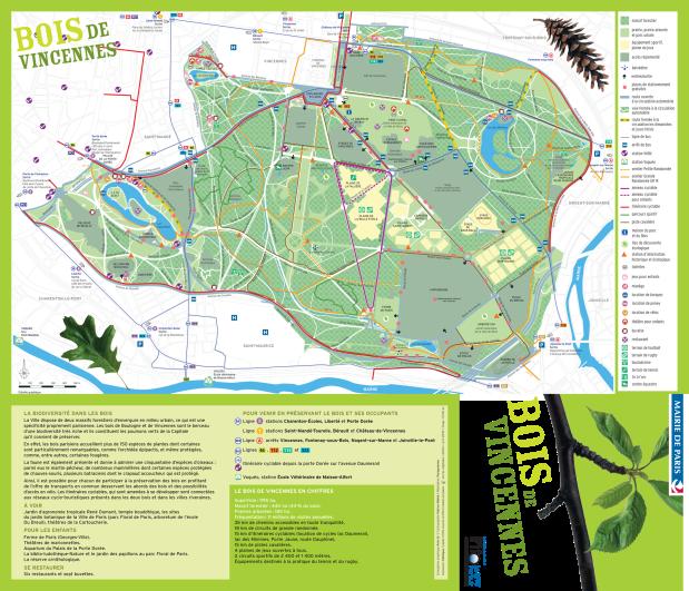 Bois-de-Vincennes-Park-Map