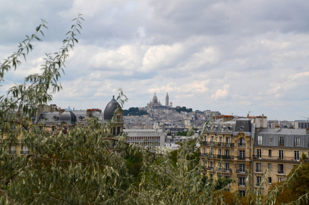 Sacre Coeur from a distance.