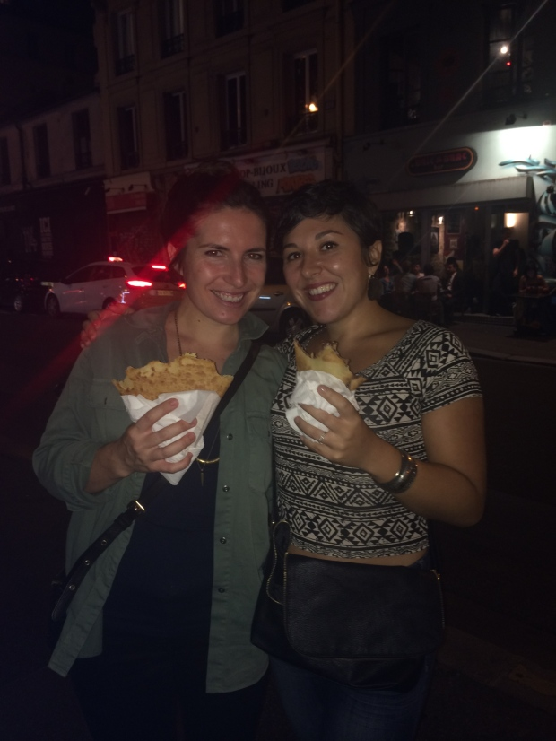 No trip to Paris is complete without late night crepes.