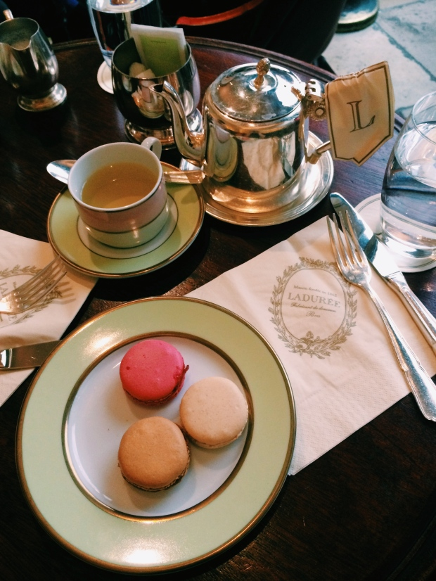 Nicole and I had a lady date at Laduree complete with tea and macarons.