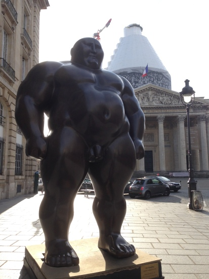 Outside the Pantheon. Heh.