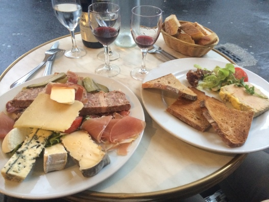 Our last meal out in Paris. Of course it had to be cheese.