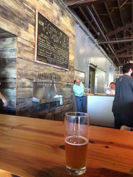 Visited Athen's newest brewery, Creature Comforts.