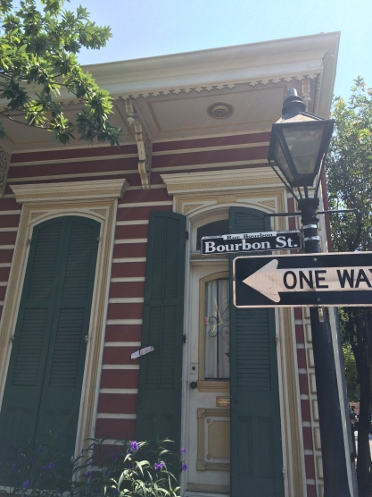 Wandering around New Orleans.