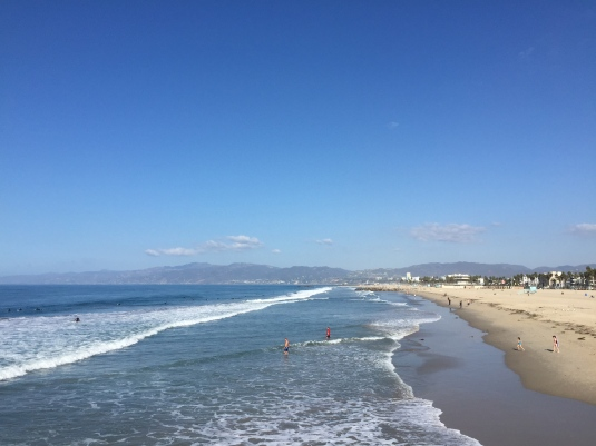 It was a long haul to the beach for my run, but it was totally worth it.