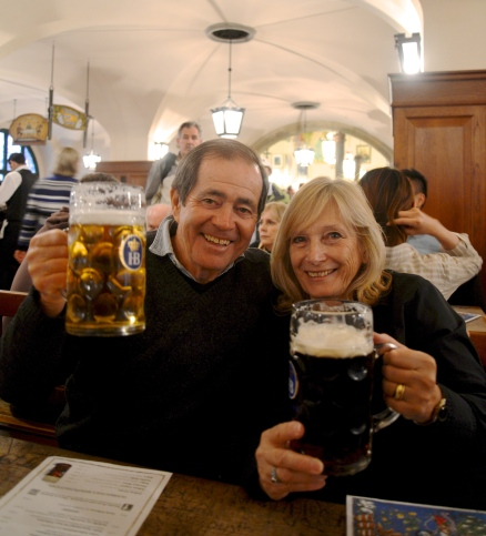 My parents at the Hofbrauhaus :)