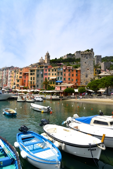 Drove to Tuscany, took a ferry to the coastal town of Portovenere.