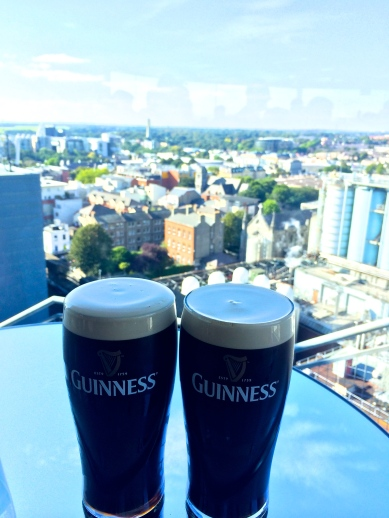 Spent a week in Dublin, tasting fresh Guinness and visiting the Jameson Distillery.