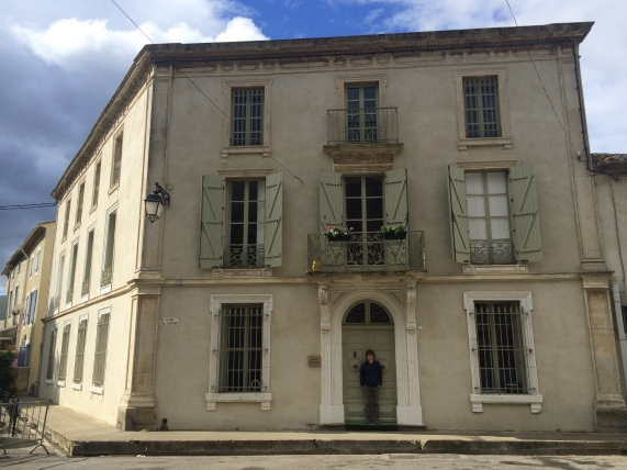 Started May by housesitting this massive three-story, eight-bedroom house in Azille, France.