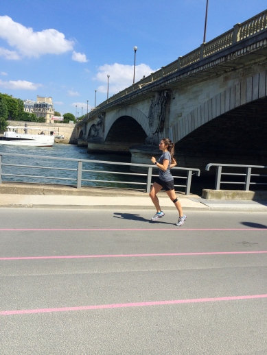 Had some great runs along the Seine.