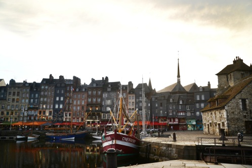 Traveled to Honfleur in Normandy with my parents.
