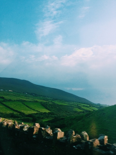 Flew to Dublin, drove across the entirety of Ireland to get to the coastal town of Dingle.