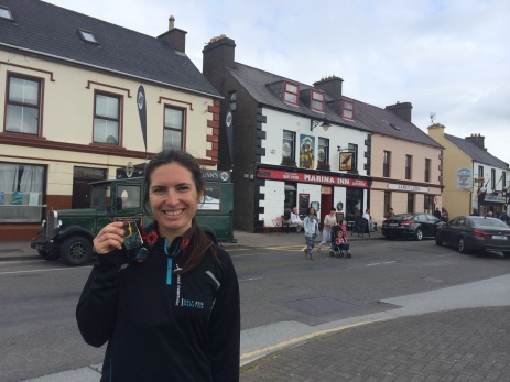 Completed my first race abroad! The Dingle Half Marathon.