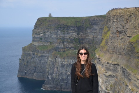 Drove to the Cliffs of Moher.
